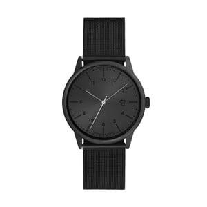 Czarny zegarek z grafitowym cyferblatem CHPO Rawiya