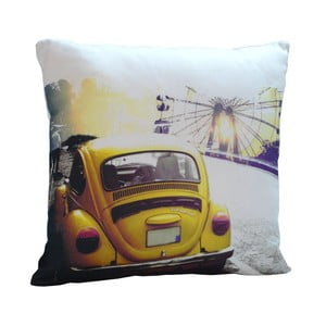 Poduszka Yellow Car, 45x45 cm