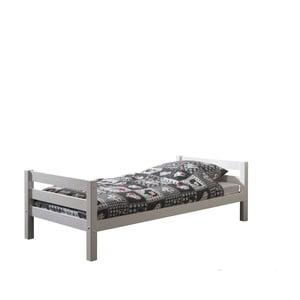 Białe łóżko dziecięce Vipack Pino, 90x200 cm
