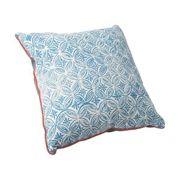 Niebieska poduszka Mauro Ferretti Argentina, 40x40cm