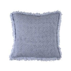 Niebieska poduszka Walra Yara, 50x50cm