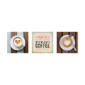 Samoprzylepne obrazy Vintage Café, 30x30 cm