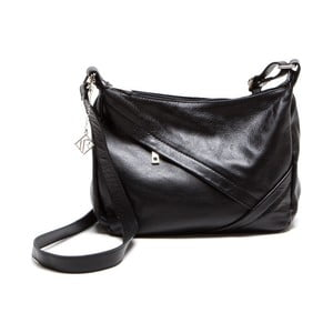Skórzana torebka Isabella Rhea 2133 Nero