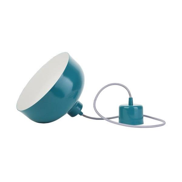 Turkusowa lampa wisząca Loft You B&B, 33 cm