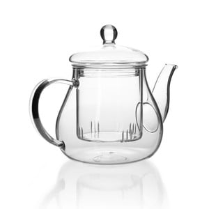Szklany dzbanek do herbaty z sitkiem Tasev