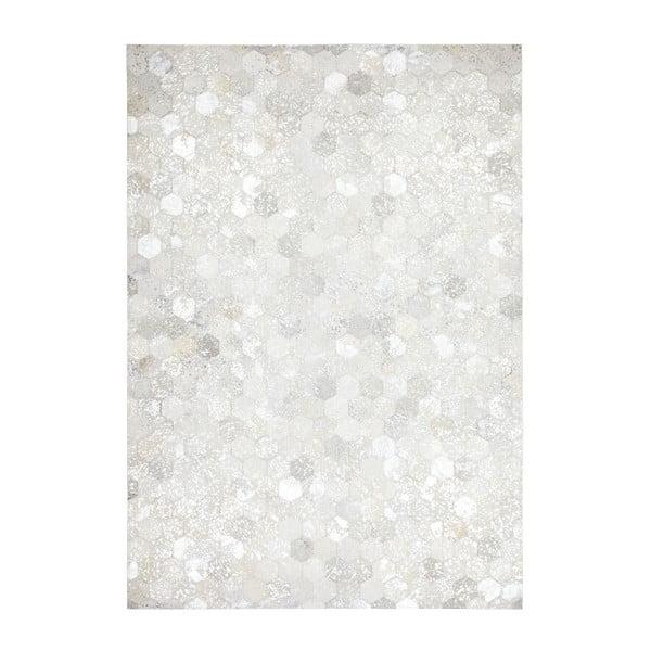 Dywan skórzany Dazzle 400 Light, 80x150 cm