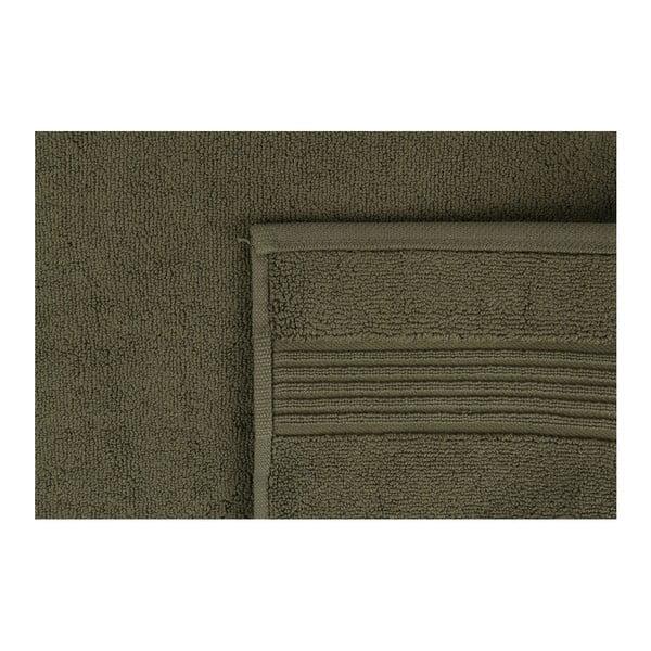 Zielony dywanik łazienkowy Betty,50x85cm