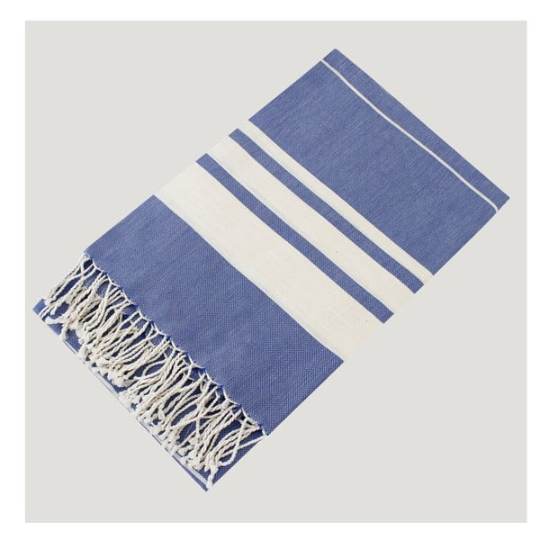 Ręcznik hammam Bath Style Blue, 100x180 cm