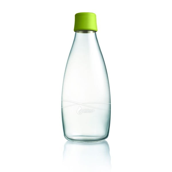 Zielona butelka ze szkła ReTap z dożywotnią gwarancją, 800 ml
