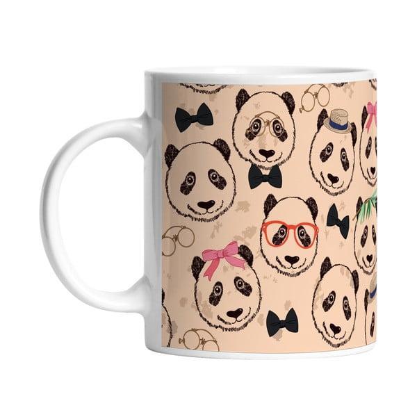Ceramiczny kubek Panda Crew, 330 ml