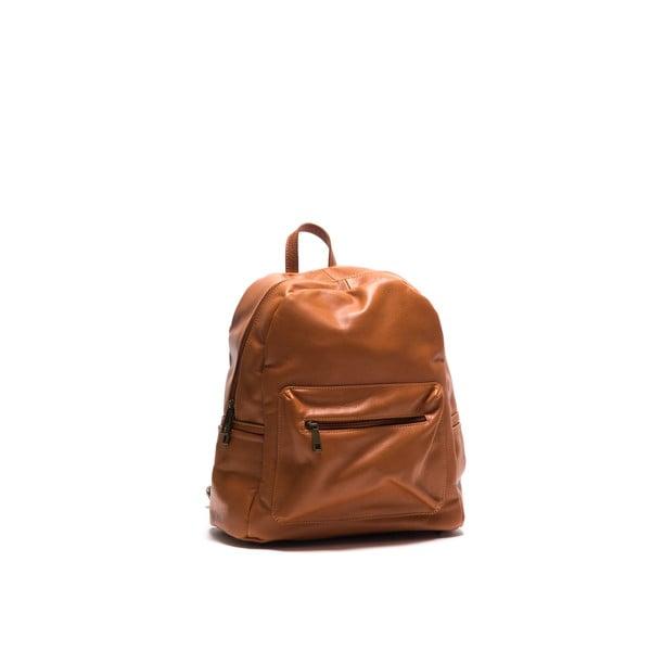 Skórzany plecak Anna Luchini 2122 Cognac