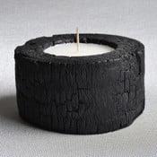 Palmowa świeczka Legno Dark o zapachu wanilii i paczuli, 40 godz.