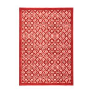 Czerwony dywan Hanse Home Gloria Tile, 80x150 cm