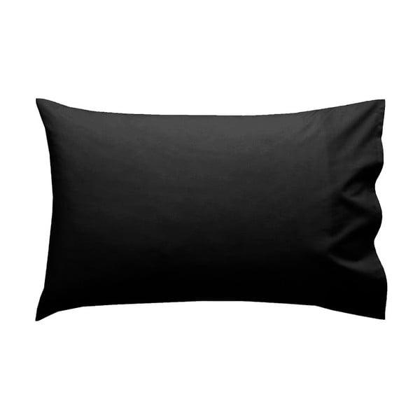 Poszewka na poduszkę Let's Home Black 50x80 cm