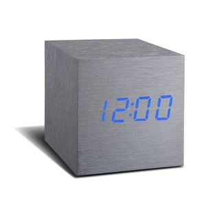 Budzik LED Click Clock Maxi Blue