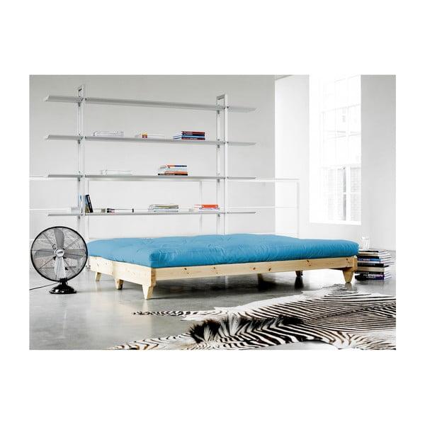 Sofa rozkładana Karup Fresh Natural/Horizon Blue