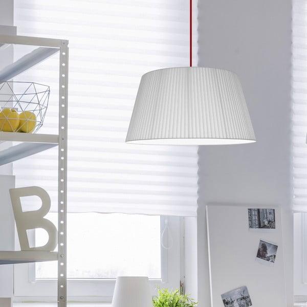 Lampa Kami L, white/red