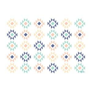 Winylowy dywan Aztec Multicolor, 120x170 cm