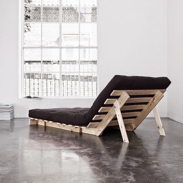 Fotel rozkładany Karup Roots Raw/Gray