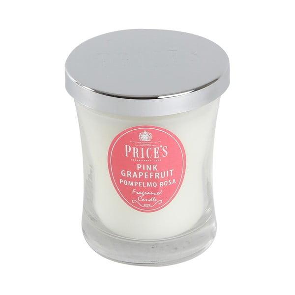 Świeczka zapachowa Prices, różowy grapefriut, 45 godz.