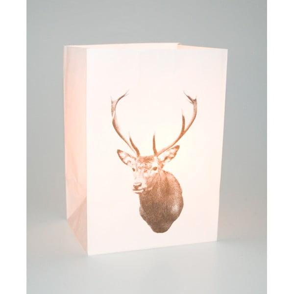Zestaw 2 lampionów Deer