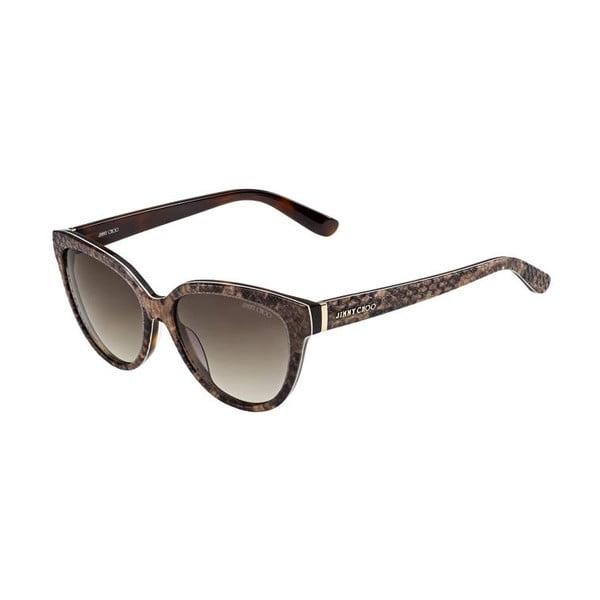 Okulary przeciwsłoneczne Jimmy Choo Odette Python/Brown