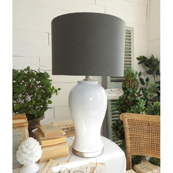 Lampa stołowa White Grey