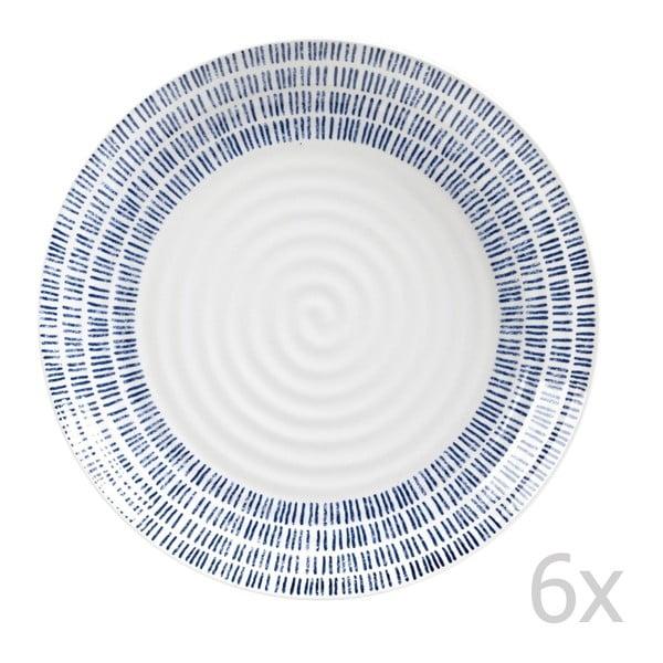 Komplet 6 talerzy Dashie, 22,5 cm