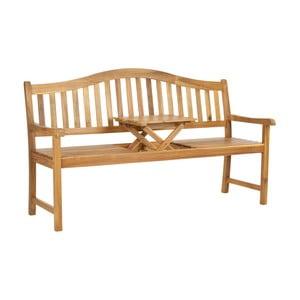 Brązowa ławka ogrodowa z drewna akacji Safavieh Bialey