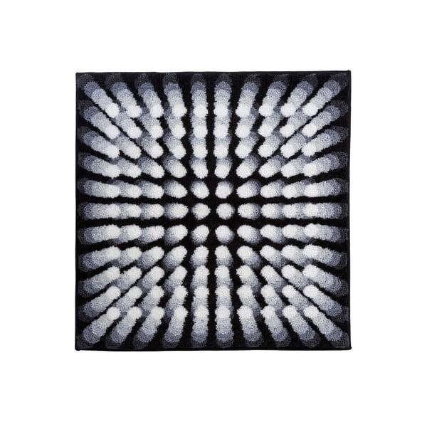 Dywanik łazienkowy Kolor My World VII 90x90 cm, szary