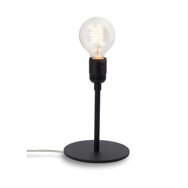 Czarna lampka stołowa Sotto Luce BI Elementary 1T