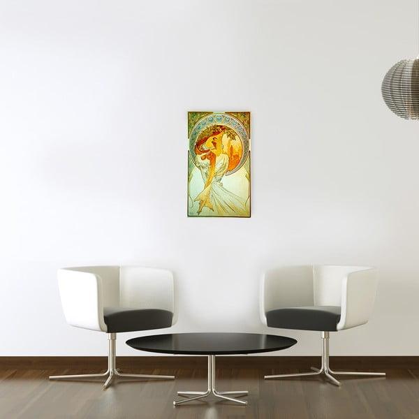 Obraz Alfons Mucha - Poezja, 30x50 cm