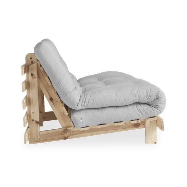Sofa rozkładana Karup Design Roots Raw/Light Grey