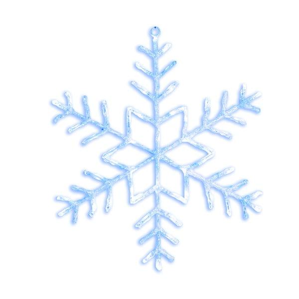 Dekoracja świecąca LED Best Season Merry Snowflake, Ø 80 cm