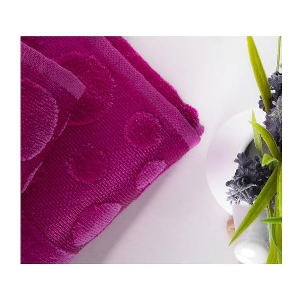 Zestaw 2 ręczników Tropical Fuchsia, 50x90 cm a 70x140 cm