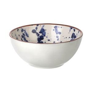 Ceramiczna miska Blue Art, 7x15,5 cm