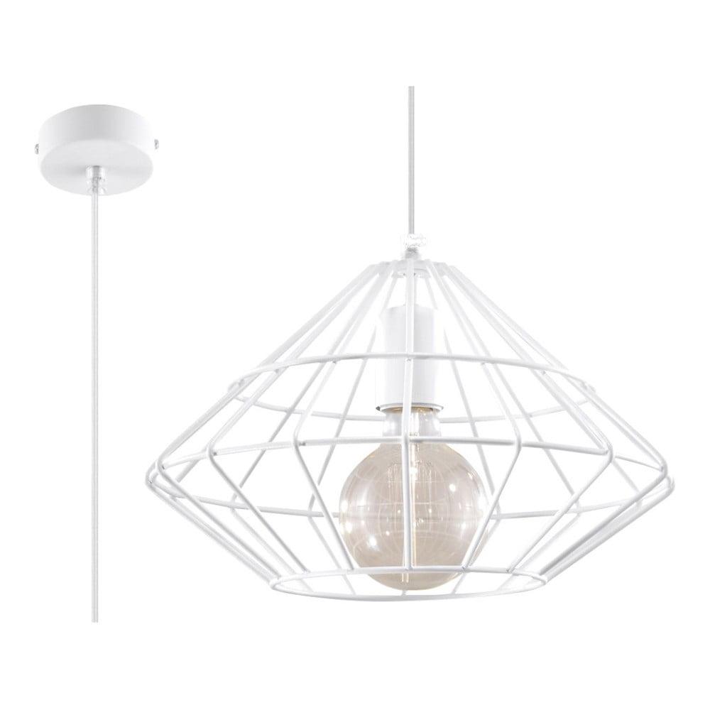 Biała lampa wisząca Nice Lamps Editta