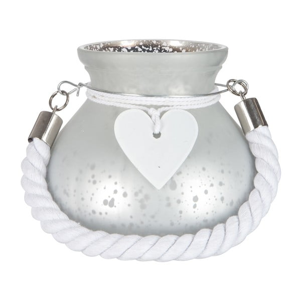 Lampion Heart and Rope, 15 cm