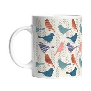 Ceramiczny kubek Sparrow Bird, 330 ml