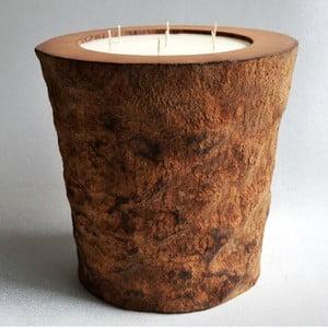 Palmowa świeczka Legno o zapachu wanilii i paczuli, 160 godz.