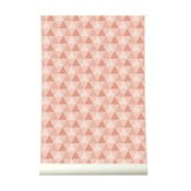 Tapeta Triangles Pink