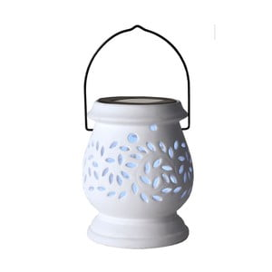 Lampion Solar Energy Clay Lantern White