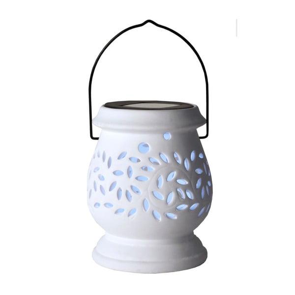 Lampion Solar Energy Clay Lantern White