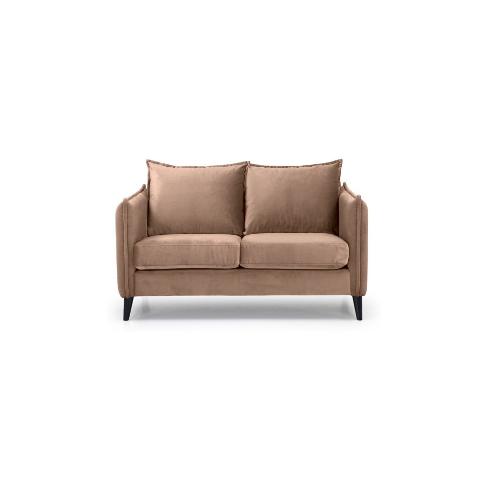 Beżowa sofa 2-osobowa Scandic Leo