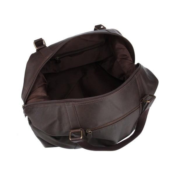 Skórzana torba męska Cabin Brown