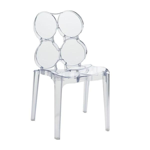 Przezroczyste krzesło Circles
