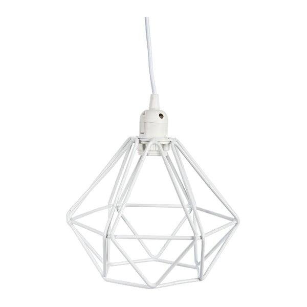 Żyrandol Geometric White, 23x23x129 cm