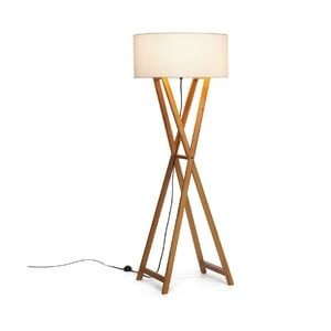 Lampa stojąca Wood Cream