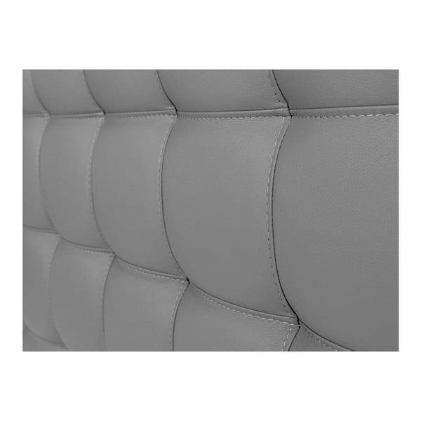 Zagłówek łóżka w kolorze srebra Windsor & Co Sofas Deimos, 200x120 cm