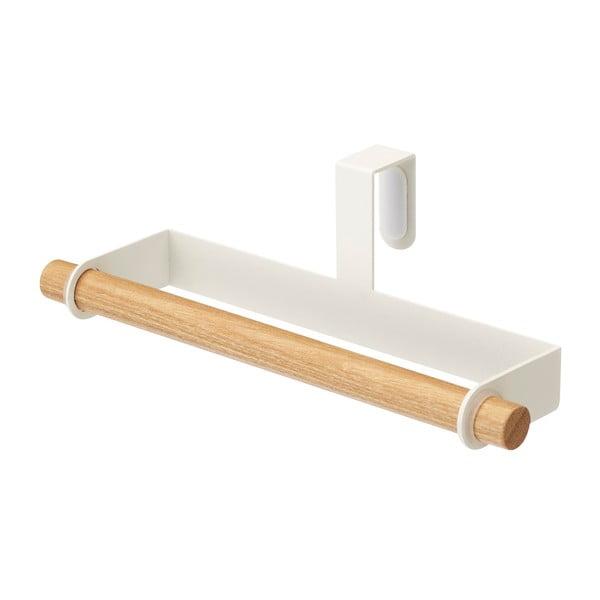 Biały wieszak na drzwiczki Yamazaki Tosca